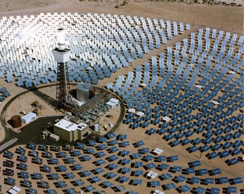 World's Largest Commercial Solar Power Tower Goes Online : CleanTechnica.
